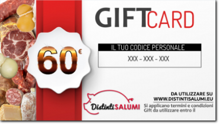 gift card 60 euro